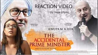The Accidental Prime Minister Trailer Reaction by Irene Lopez   Anupam Kher   Akshay Khanna
