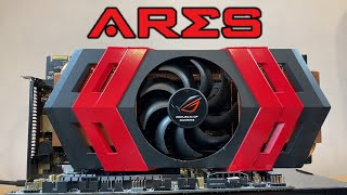 ASUS ARES - The Biggest, Baddest & Most Expensive Gaming GPU 10 Years Ago