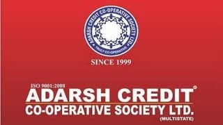 Adarsh credit co-operative society/online RD collection