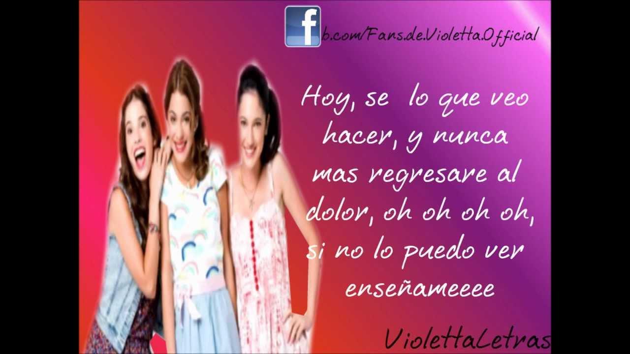 Letra Junto A Ti Violetta Francesca Y Camila Martina Lodovica Y Candelaria Hd Youtube