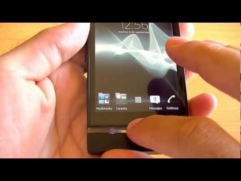 Sony Xperia P review (en español)