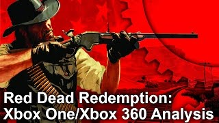 Red Dead Redemption Xbox One vs Xbox 360 Gameplay Frame-Rate Test
