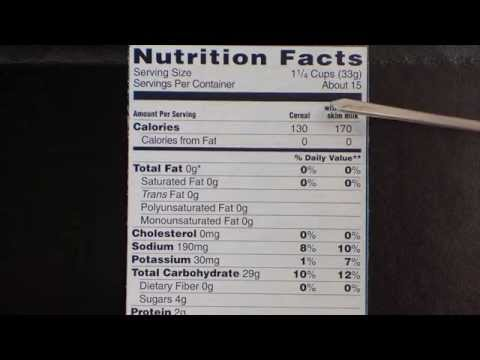 Nutrition Label Chat