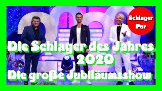 Die Schlager des Jahres 2020 - Die große Jubiläumsshow (20.11.2020 gekürzt)