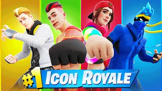 FORTNITE ICON SQUAD IS FINALLY HERE! (Ninja, Grefg, Lachlan & Loserfruit)