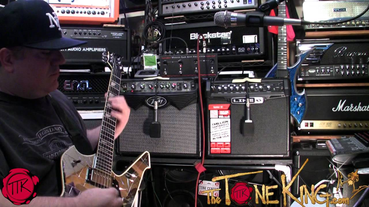 Vypyr vs  Spider SHOOT-OUT! $99 Guitar Amps Continued