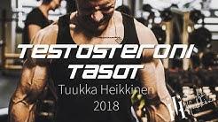 Meikän buustaamattomat TESTOTASOT | Tuukka Heikkinen 2018