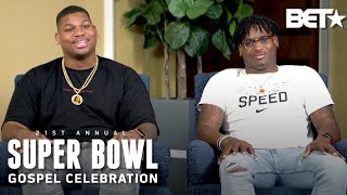 NFL's Quinnen & Quincy Williams Are Honored For Their Work Off The Field   Super Bowl Gospel 2020