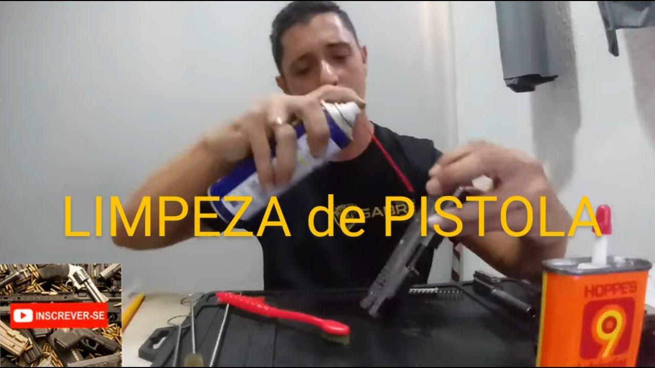 LIMPEZA DE PISTOLA