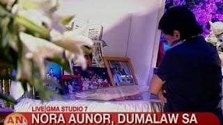UB: Nora Aunor, dumalaw sa burol ni Kuya Germs