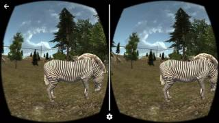 VR Virtual Zoo 3D | Android Cardboard 360