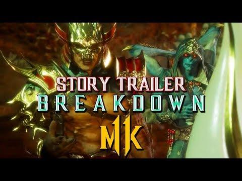 Mortal Kombat 11: Story Trailer Breakdown! thumbnail