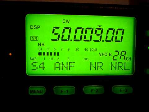 Beacon from St. Vincent on VHF 6 meters