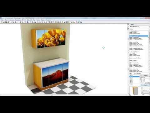 KitchenDraw 6.5 Наложение фото на фасады