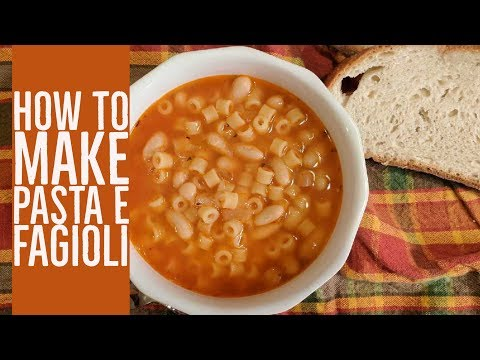 How to make Pasta Fagioli - Cara Di Falco - Cara's Cucina