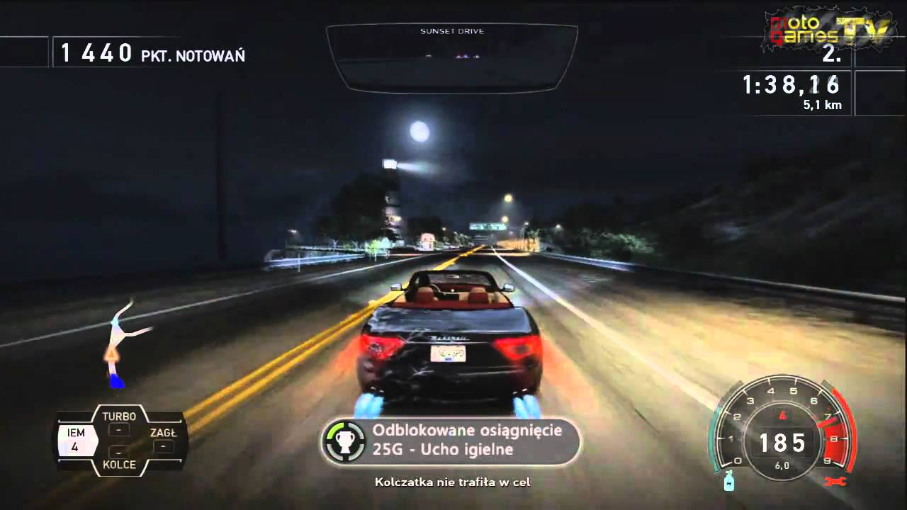 Need For Speed Hot Pursuit Xbox 360 Maserati Grancabrio Gameplay
