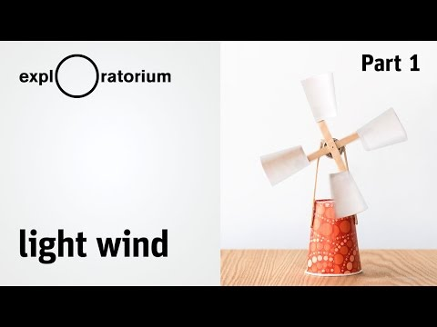 Easy DIY wind turbine | Light Wind - Science Snack activity