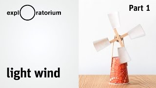 Easy DIY wind turbine | Light Wind - Science Snack activity