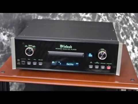 Stereo Design McIntosh MCD550 SACD/CD Player in HD