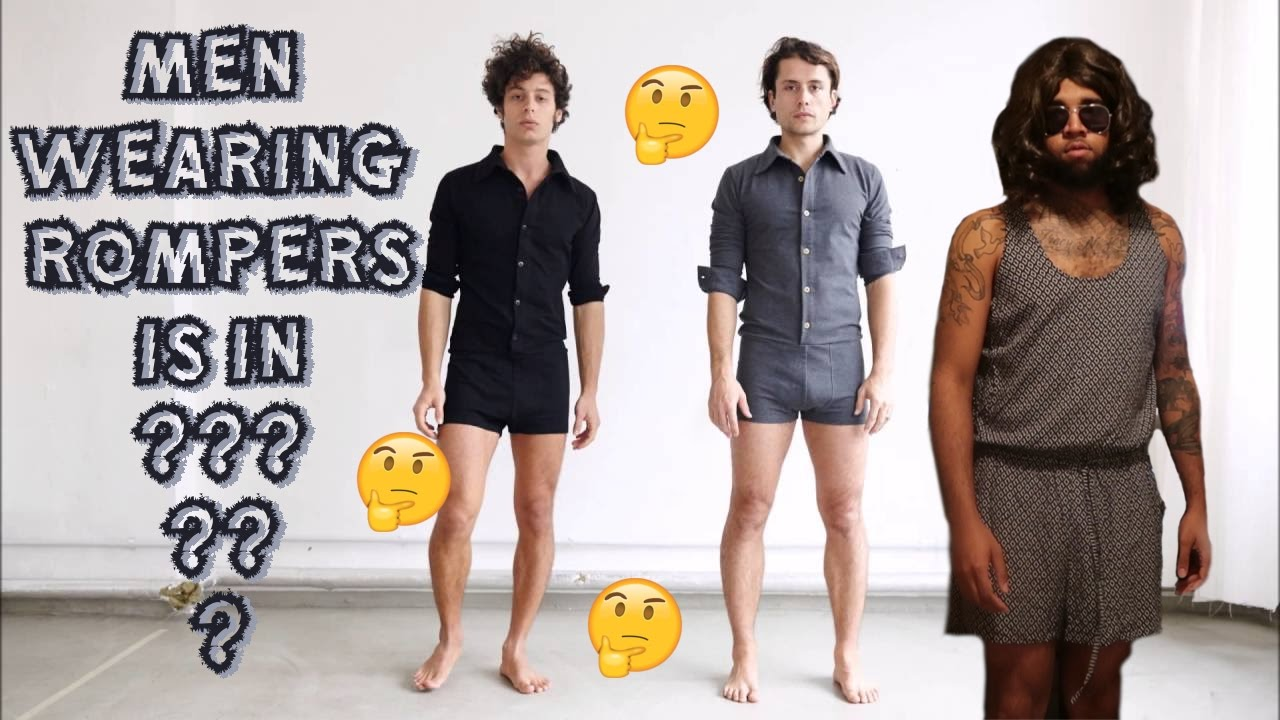 86b6ce901edc MEN MALES WEARING ROMPERS NOW   WHAT IN THE WORLD   THIS MUST BE STOPPED!!  (TRASH CAN BAE SKIT)