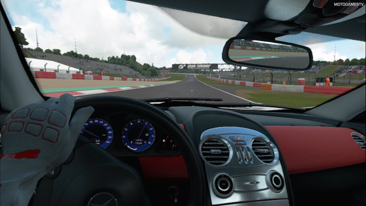 Gran Turismo Sport VR - 2009 Mercedes-Benz SLR McLaren Gameplay