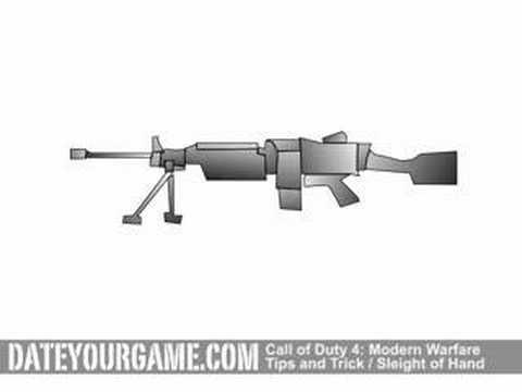 Call of Duty 4 Modern Warfare Sleight of Hand Perk Review