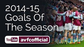 Aston Villa's goal of the season 2014-15
