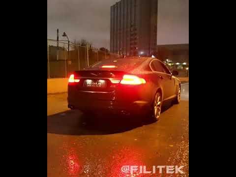 Изменить звук выхлопа на Jaguar XF 3 Kompressor 2013 года