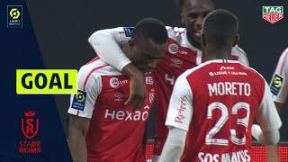 Goal Ghislain KONAN (39' - STADE DE REIMS) FC NANTES - STADE DE REIMS (1-2) 20/21