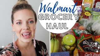 WALMART GROCERY HAUL + OUR MEAL PLAN THIS WEEK | EM AT HOME