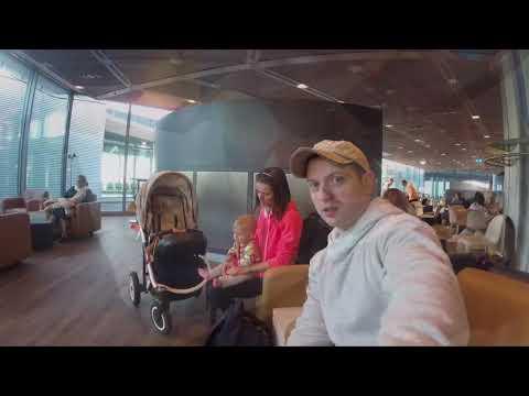 Part 1: Flying to Abu Dhabi. Gdansk - Frankfurt (Lufthansa) 4k