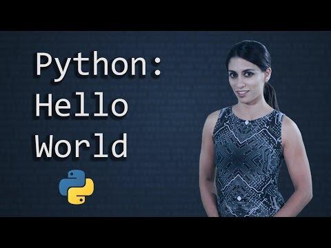 Hello World in Python     Python Tutorial      Python Programming