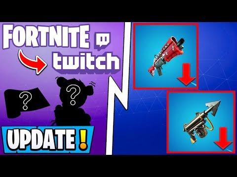 *NEW* Fortnite 11.20 Update! | PATCH NOTES, Free Twitch Rewards, Shotgun Nerf!