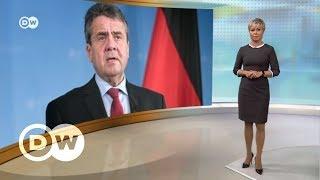 Немецкий министр хочет защитить российский газ от санкций США - DW Новости (11.01.2018)