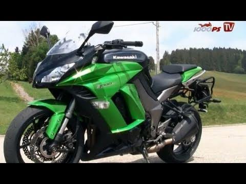 Vergleich Strassenmotorräder -  KawaZ1000SX - 1000PS TV