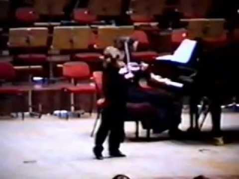 Sasha Sitkovetsky in concert 1990