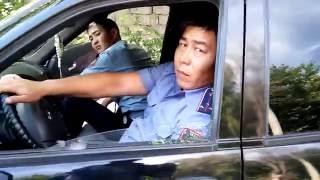 НОВОЕ Усиление 21 го мая 2016 Полицейские нарушители ПДД. Спящий отряд Шымкента