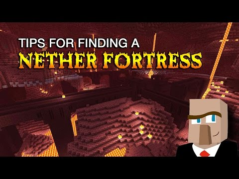 EASILY FIND A NETHER FORTRESS: Tips and Tricks that Really
