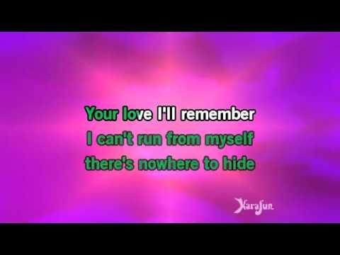 Karaoke I Have Nothing - Whitney Houston