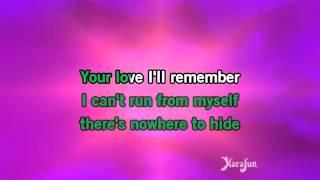 Karaoke I Have Nothing    Whitney Houston