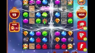 4124 уровень в игре Сокровища Пиратов