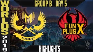GAM vs FPX Highlights Game 2 | S9 Worlds 2019 Group B Day 5 | GAM Esports vs FunPlus Phoenix
