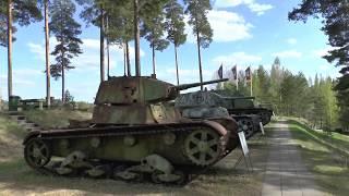 Т-54 в разрезе и Танки Зимней войны 1939-1940. Музей Бронетехники в Парола, Финляндия. Часть 1/3.