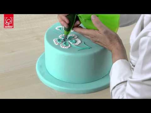 ghiaccia reale come creare fiori e decorazioni youtube