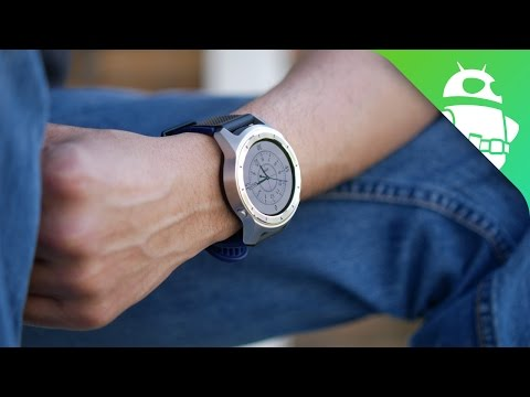 ZTE Quartz Hands-on: Android Wear 2 for under $200!