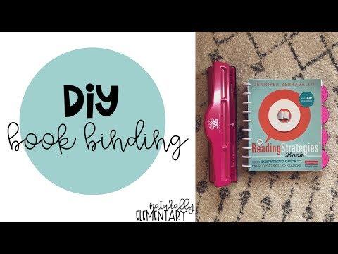 DIY Binding the Reading Strategies Book | Naturally Elementary