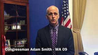 Congressman Adam Smith's Message for the 2018 Jalsa Salana USA