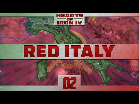 Hearts of Iron IV - Red Italy - Episode 2 ...The Great Navy Reform...