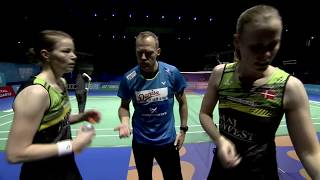 Dubai World Superseries Finals 2017 | Badminton Day 1 M3-WD | Juhl/Ped vs Jung/Shin