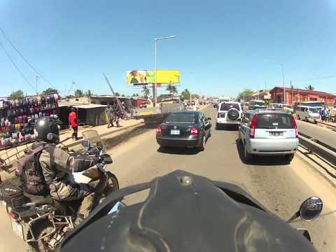 maputu mozambique  motorcycle trip